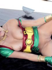 Andi Land is the sexiest Robin ever for Halloween