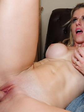 Redhead coed Sadie Kennedy gets taught how to fuck by Cory Chase