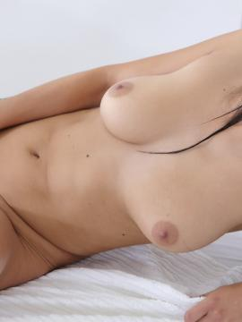 Beautiful girl plays with pussy