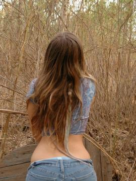 Teen girl emily 18 alone in the woods