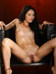 "Gorgeous girl Olka shows her nude body in ""The Waiting Room"""