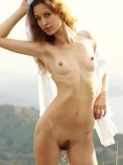 "Redhead beauty Lu Novia exposes herself in ""Hot With a View"""