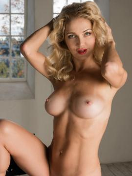Mila N shows hot nude body