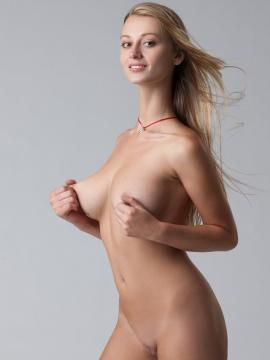 carisha model Busty nude blonde