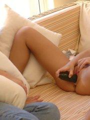 Pictures of teen girl Kata playing with her pussy