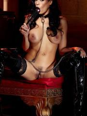 """Goth babe Luna Star is ready to whip you into shape in """"Domme"""""""