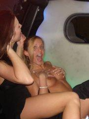 Pictures of Karen Dreams getting naughty with Kate and Melissa at an expo