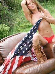Country girl Madden wishes you a happy independence day