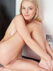 Stunning blonde Kimberly B shows you every bit of her amazing body