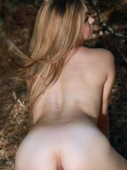 Gorgeous girl Tiara invites you on a private picnic in the woods