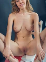 """Busty blonde Ryana gets naked for you in """"Nevisa"""""""