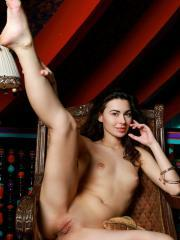 """Beautiful girl Stella Moon spreads her legs for you in """"Ordia"""""""