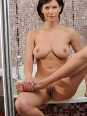 Busty girl Suzanna A wants to take a bath with you in Densal