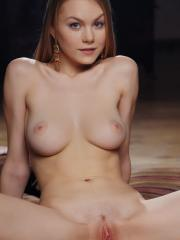 """Blonde beauty Nancy A shows off her gorgeous nude body in """"Meuse"""""""
