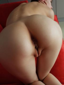 ass pussy bent-over nude