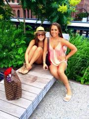 Hot college coeds share pics in their sexy bikinis