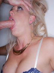 Busty blonde Holly Heart takes a big cock up her ass