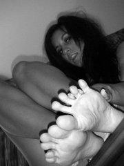 Pictures of Raven Riley naked in black and white