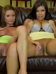 Salina Ford gets together with her hot friends for some naughtiness