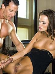 Pictures of Tori Black feeling so horny that she decides to put out before the date