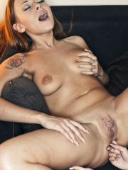 """Tina Walker and Katerina Muti get each other off in """"Domineer"""""""
