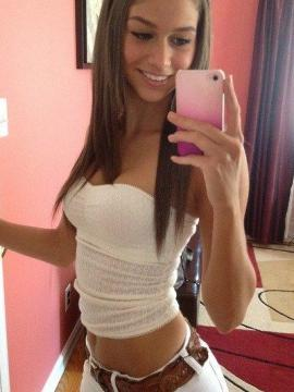 Selection of sexy amateur babes camwhoring with their cameras
