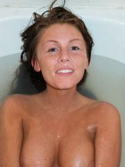 Hot coed Whitney Westgate wants you to join her for a hot bath